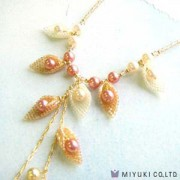 Miyuki Schmuck Bastelset BFK 107 Moon Shell Necklace