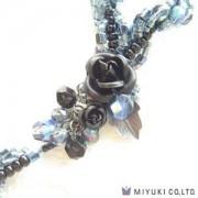 Miyuki Schmuck Bastelset BFK 134 Spiral Rope Noctre Necklace