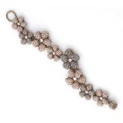 Miyuki Schmuck Bastelset BFK 156 Right Angle Weave Souple Flower Bracelet