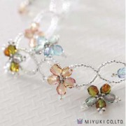 Miyuki Schmuck Bastelset BFK 93 Varied Flowers Bracelet
