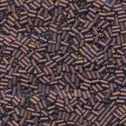 Miyuki Stäbchen  Bugle Beads 3mm 2005 matt metallic Copper ca 10gr