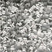 Miyuki Stäbchen Perlen Bugle Beads 1,5mm 0037 satin White 10gr