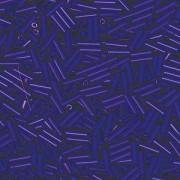Miyuki Stäbchen Perlen Bugle Beads 6mm 0414 opaque Cobalt Blue 10gr