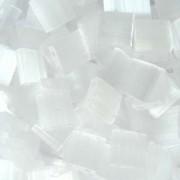 Miyuki Tila Beads 5mm Crystal Frosted Mist TL0037 7,2gr