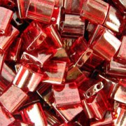 Miyuki Tila Beads 5mm Garnet gold luster TL0304 7,2gr