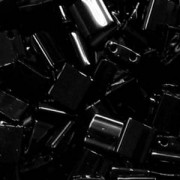 Miyuki Tila Beads 5mm Black TL0401 7,2gr