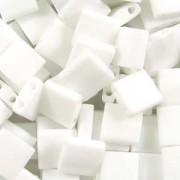 Miyuki Tila Beads 5mm Opaque White Matt TL0402FR 7,2gr