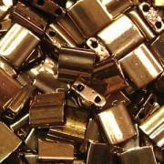Miyuki Tila Beads 5mm Dark Bronze TL0457 7,2gr