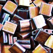 Miyuki Tila Beads 5mm Metallic Copper Matt TL2005 7,2gr