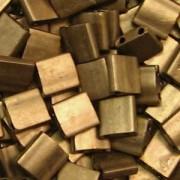 Miyuki Tila Beads 5mm Metallic Gold Matt TL2006 7,2gr