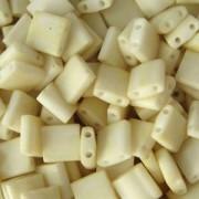 Miyuki Tila Beads 5mm matt Cream TL2021 7,2gr