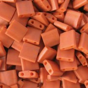 Miyuki Tila Beads 5mm Burnt Sienna TL2315 7,2gr