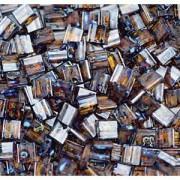 Miyuki Tila Picasso Beads 5mm transparent dark Amber TL4502 ca 7,2gr