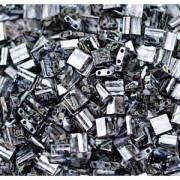 Miyuki Tila Picasso Beads 5mm matt Smoky Black TL4511 ca 7,2gr