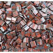 Miyuki Tila Picasso Beads 5mm Mahogany Mist TL4521 ca 7,2gr