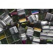 Miyuki Tila Special Plating Beads 5mm Crystal Iridescent Chrome TL4552 ca 7,2gr