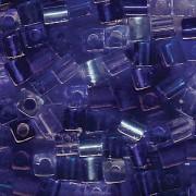Miyuki Würfel Beads 3mm Mix02 Blue Tones ca 20 Gr.