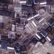 Miyuki Würfel Beads 3mm Mix12 Apparition ca 20 Gr.