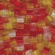 Miyuki Würfel Beads 3mm Mix19 Tango ca 20 Gr.