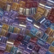 Miyuki Würfel Beads 3mm Mix20 Prarie ca 20 Gr.