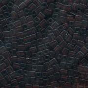 Miyuki Würfel Beads, Cube, Square Beads 4mm 0134 transparent dark Brown 25gr