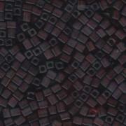 Miyuki Würfel Beads, Cube, Square Beads 4mm 0134F transparent matt Dark Amber 20gr