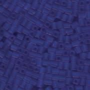 Miyuki Würfel Beads, Cube, Square Beads 4mm 0150F transparent matt Sapphire 20gr