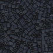 Miyuki Würfel Beads, Cube, Square Beads 4mm 2411F matt Montana Blue 20gr
