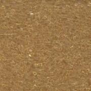 Miyuki Würfel Beads, Cube, Square Beads 1,8mm 0132 transparent Light Gold 12gr