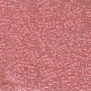 Miyuki Würfel Beads, Cube, Square Beads 1,8mm 0204 insinde colorlined Salmon Pink 12gr