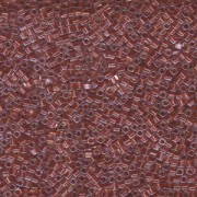 Miyuki Würfel Beads, Cube, Square Beads 1,8mm 2601 insinde colorlined Dusty Rose 12gr