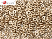 O-Beads 2x4mm 2402010-25005 Alabaster Pastel light Brown ca 8,1gr