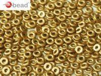 O-Beads 2x4mm 2463130 Crystal Aztek Gold ca 8,1gr
