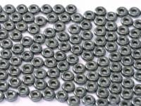 O-Beads 2x4mm 2423980-14400 Jet Hematite ca 8,1gr
