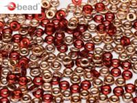 O-Beads 2x4mm 2490090-27101 Red Capri Gold ca 8,1gr