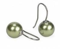 Ohrhaken für Crystal Pearls mit Kappen 1 Paar goldfarben nickelfrei