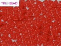 TRI Beads 4mm 93200 Opacque Red ca 10 gr