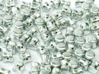 Pellet Beads 4x6mm Crystal full Labrador 50 Stück
