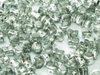 Pellet Beads 4x6mm Crystal Labrador 50 Stück
