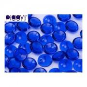 Piggy Beads 4x8mm Cobalt 50 Stück