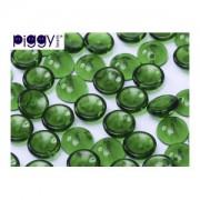 Piggy Beads 4x8mm Smaragd 50 Stück