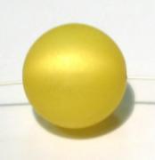 Polarisperle 18mm gelb 1 Stück