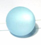 Polarisperle 18mm hellblau 1 Stück