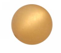 Polarisperle 18mm walnuss 1 Stück