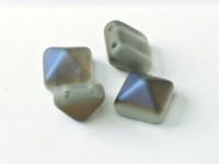 Pyramid Beads 12mm Crystal Azuro matt 5 Stück
