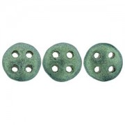 Quadralentil 6mm metallic Suede Light Green ca 10 Gramm