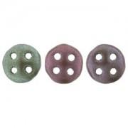 Quadralentil 6mm matt Metallic irisierend Bronze ca 10 Gramm