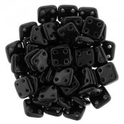 Quadratile Beads Jet ca 10 gr