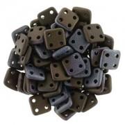 Quadratile Beads Jet matt Bronze Vega ca 10 gr
