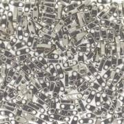 Miyuki Quarter Tila Perlen 5x1.5mm Nickel Plated ca. 7gr